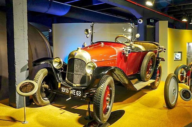 La Citroën type A 1919