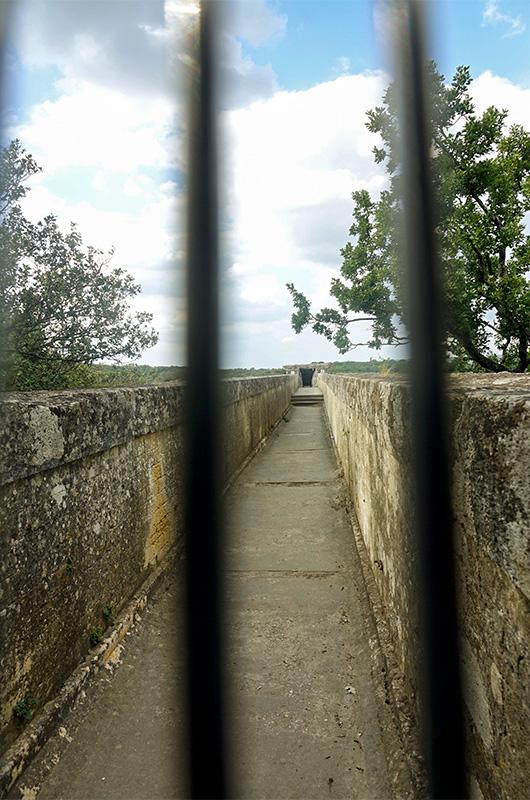 Le pont du Gard - Partie supérieure