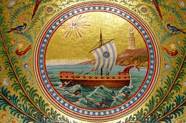 Les mosaïques de N.D. de la Garde