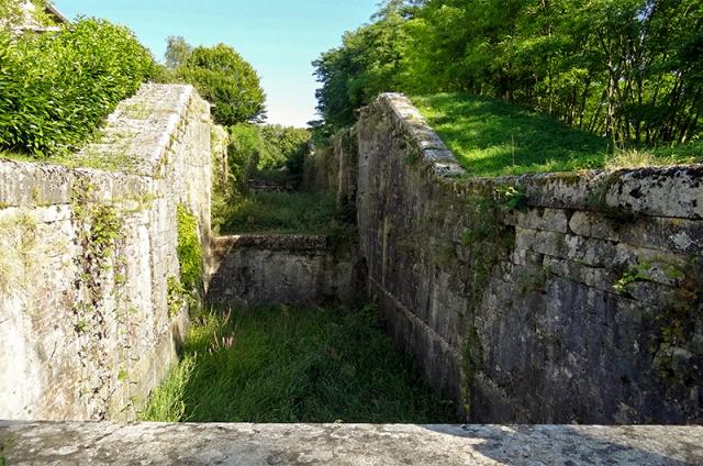 Canal de Briare, partie abandonnée