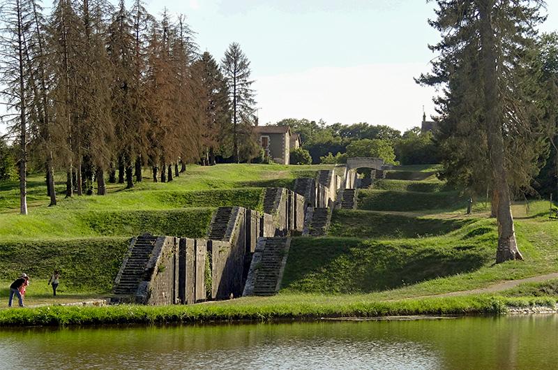 Canal de Briare, partie abandonnée à Rogny